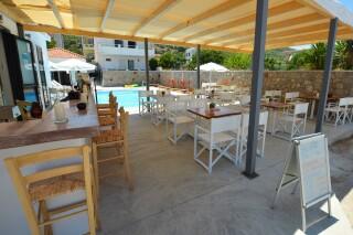 agistri holidays pool area