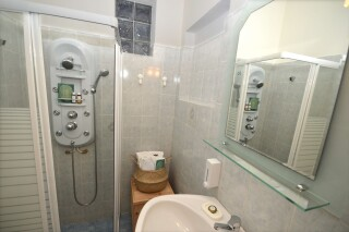 deluxe sea view apartment agistri holidays bathroom