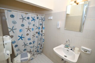 standard double room agistri holidays bathroom