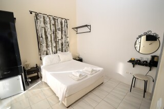 standard double room agistri holidays bedroom
