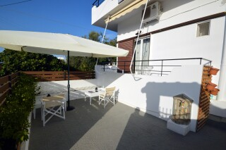 standard double room agistri holidays exterior