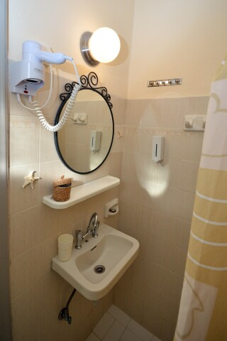 standard double room agistri holidays shower