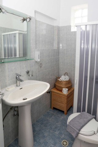 superior apartment agistri holidays bathroom