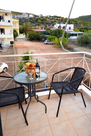 superior apartment agistri holidays veranda