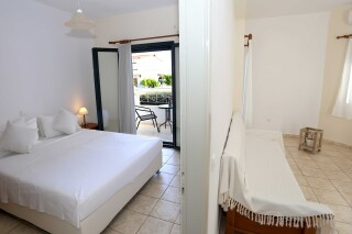 superior sea view apartment agistri holidays interior