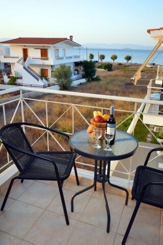 superior sea view apartment agistri holidays sea view
