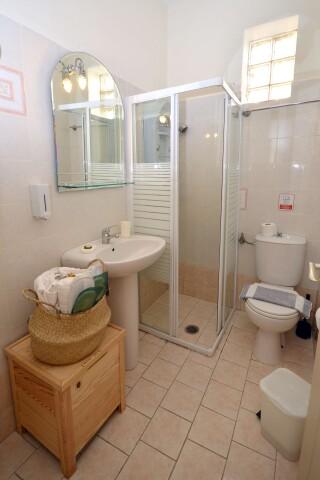 superior sea view apartment agistri holidays shower